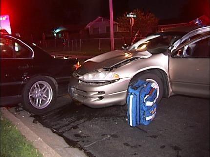 Four Injured In Early Thursday Morning Tulsa Crash