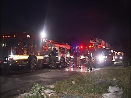 Tulsa Vacant House Fire Late Wednesday Night
