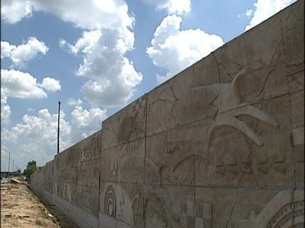 Why Replace The Barrier Wall Along The Creek Turnpike?