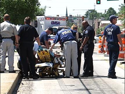Tulsa Police Intervene In Suicide Attempt On Bridge