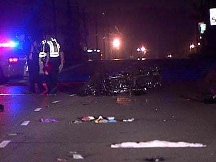 Two Injured In West Tulsa Motorcycle Wreck