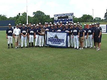 ORU Baseball Wins Conference Title