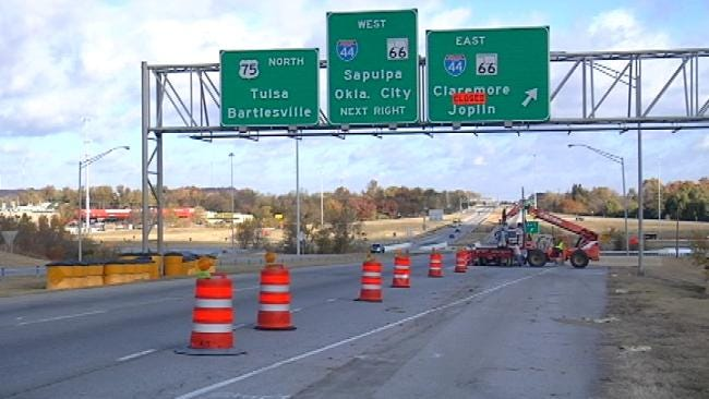 Ramps At I-44, Highway 75 Junction In Tulsa Reopened