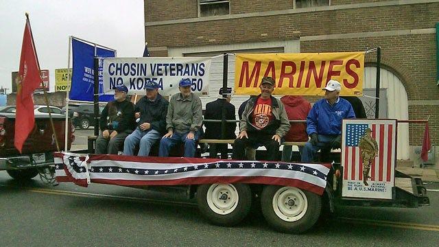 Damp Day Doesn't Dampen Veterans Day Celebration