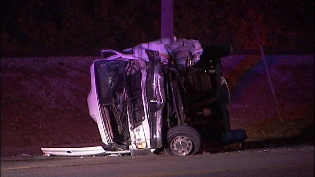 Elderly Man Killed In West Tulsa Crash