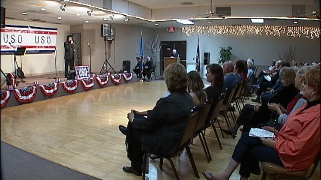 Holiday Celebration Takes Tulsa Veterans Back To World War II Era