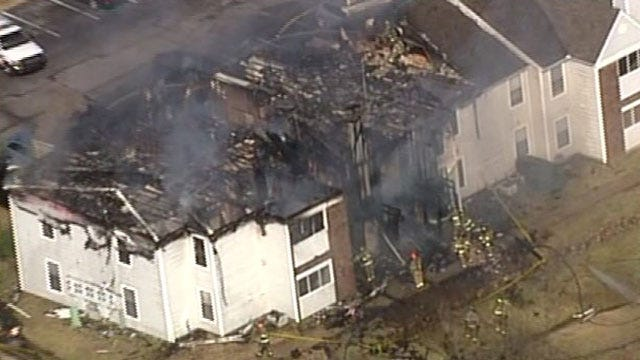 Tulsa Fire Looking For Man In Connection With Tulsa Apartment Fire