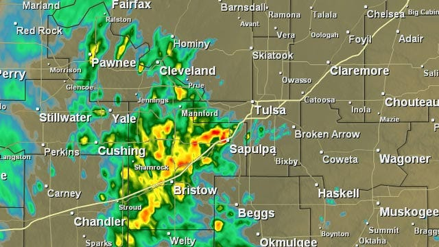 Cold Front Brings Rain And Much Cooler Temps To NE Oklahoma