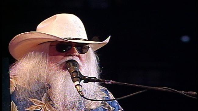 Elton John, Leon Russell Play Tulsa's BOK Center
