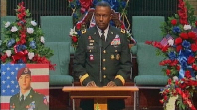 McAlester Soldier Remembered, Honored At Service