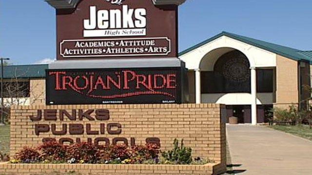 Lockdown Lifted At Jenks High School