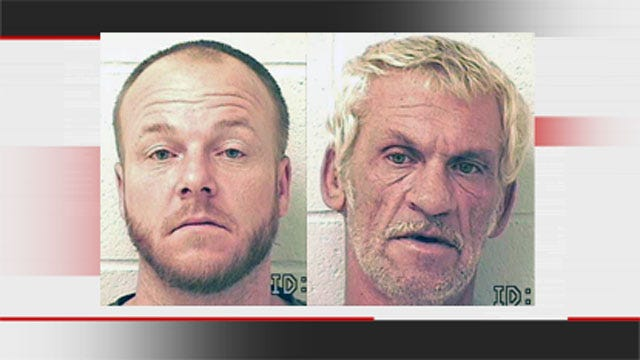 Two Arrested After Confessing To Breaking Into Okmulgee County Home
