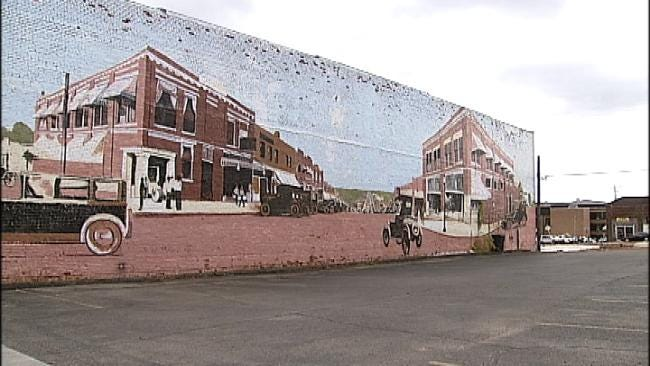 Oklahoma's Own: Drumright Murals Paint Picture Of Town's Past