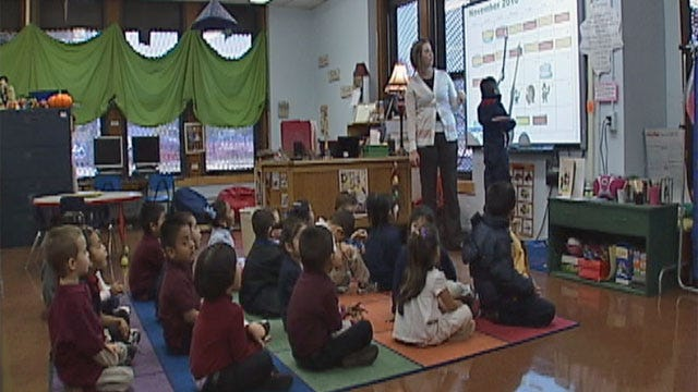 Oklahoma Gets An 'A' In Early Childhood Education, But An 'F' When It Counts