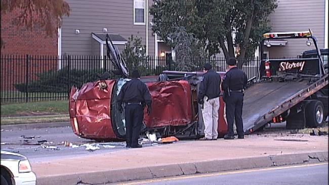 Police Identify Driver Killed In Tulsa Rollover Wreck