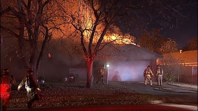 Smoke Detectors, 'Plan B,' Help Save Tulsa Woman In House Fire