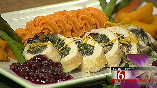 Stuffed Chicken Breast with Roulade