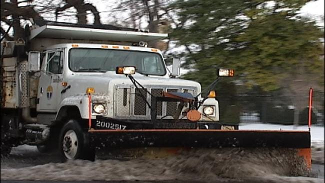 Tulsa City Councilors Want More Funds For Snow, Ice Removal