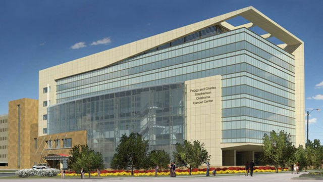 Tulsa Couple Donates $12 Million To OKC Cancer Center