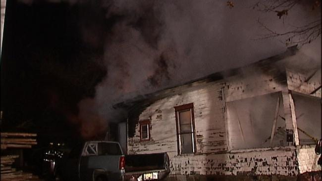 Cause Of Vacant Sapulpa House Fire Under Investigation