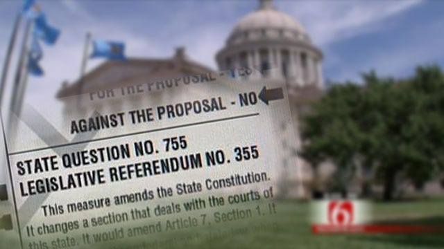 Oklahoma Voters Decide On State Questions