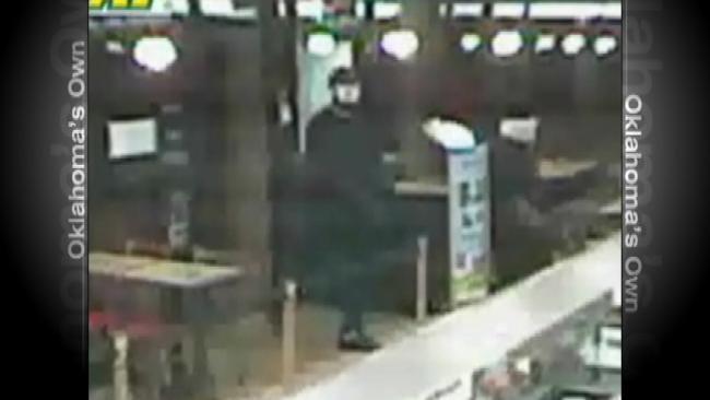 Surveillance Video Shows Suspects Robbing Tulsa Subway Restaurant