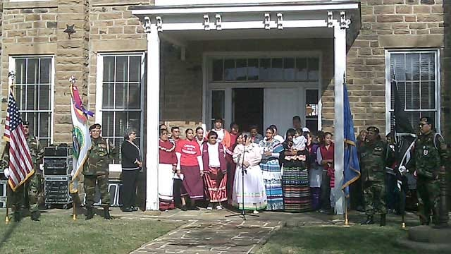 Creek Nation Reclaims Council House After 92-Year Struggle