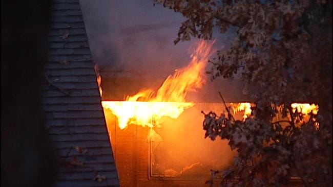 Tulsa Condo Goes Up In Flames