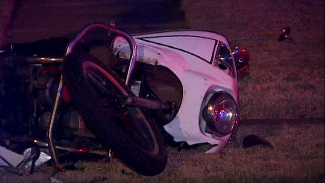 Motorcyclist In Critical Condition After East Tulsa Wreck