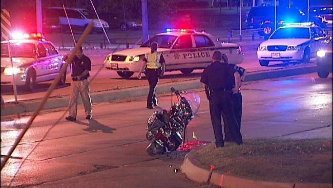 Motorcyclist Injured In Tulsa Hit And Run