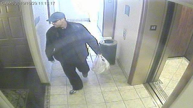 Police Looking For Tulsa Hotel Burglar