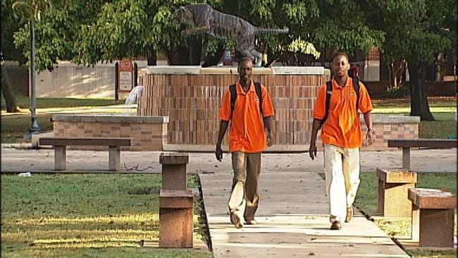 Thanks To Pros For Africa, Two Uganda Men Attend ECU In Ada