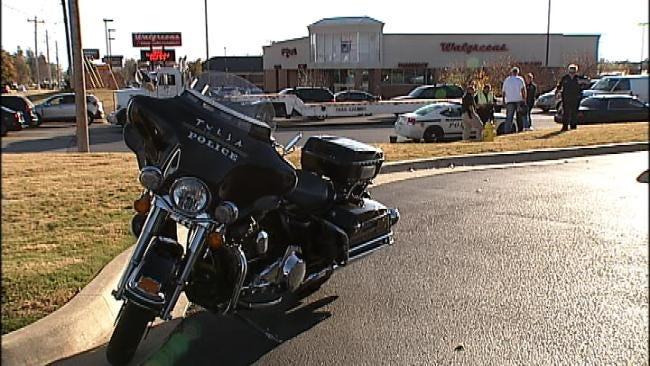 Tulsa Police Officer Injured In Motorcycle Wreck