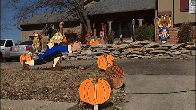 Tulsa Home Decked Out In Thanksgiving Décor