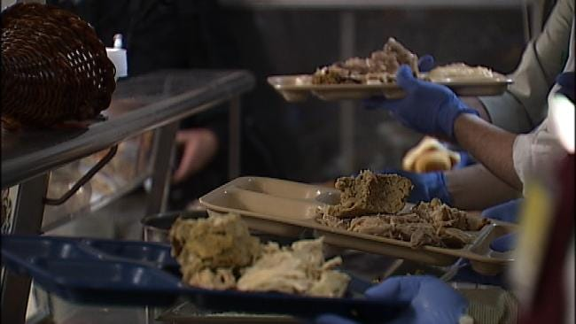 Tulsa Mayor, City Council Unite To Serve Thanksgiving Meal To The Needy