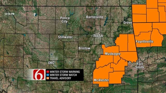 Winter Weather Advisory In Effect For Thanksgiving Day