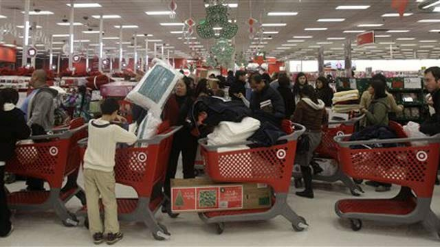 Black Friday Draws Crowds Of Shoppers