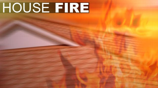 Child Suffers Burns In Latimer County House Fire