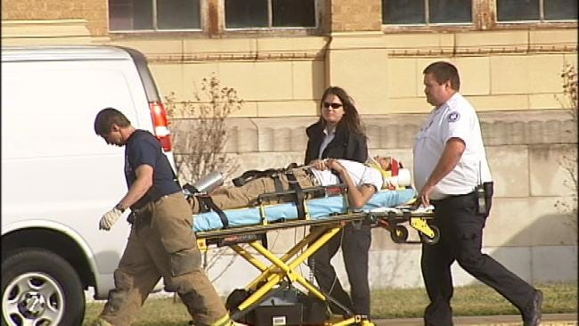 Tulsa High School Fight Sends Teen To Hospital