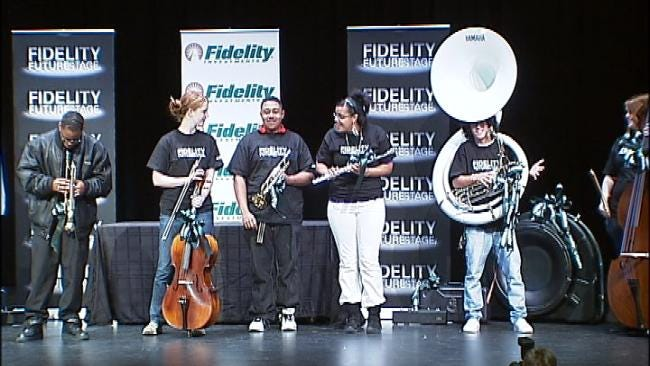 Donation Boosts Music Program At Tulsa High School