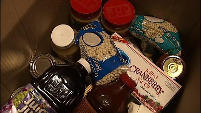 Tulsa Office Prank Benefits Food Bank