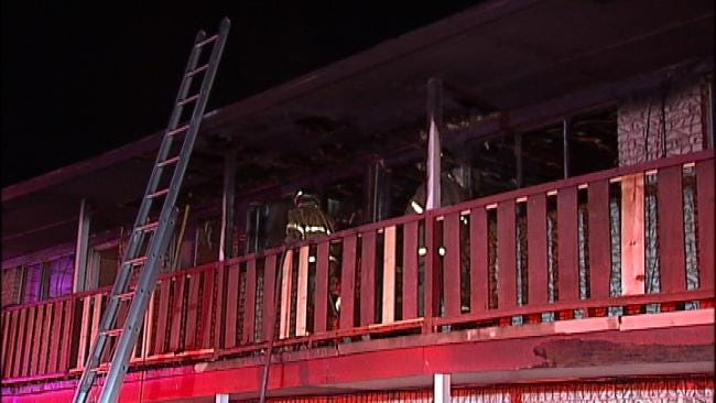 Cause Of Tulsa Apartment FIre Remains Under Investigation