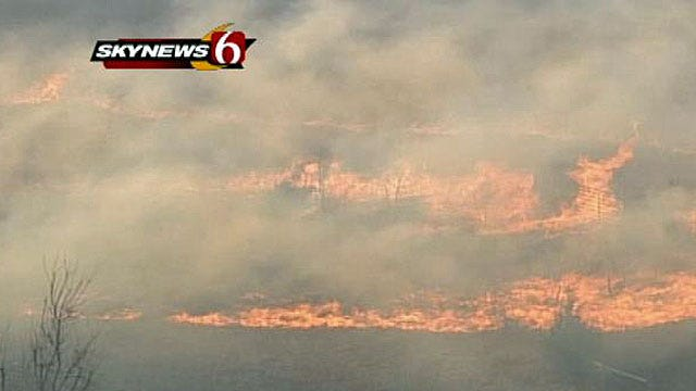 Wildfire Danger Continues For Much Of Oklahoma
