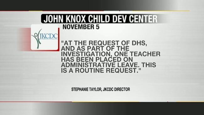 Tulsa Child Care Worker On Administrative Leave After Abuse Allegation