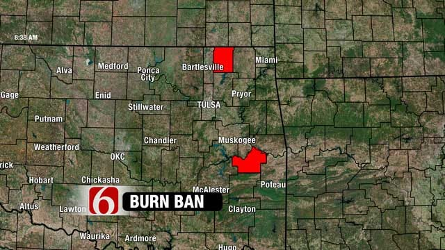 Dry Conditions Prompt Several Oklahoma Counties To Issue Burn Bans