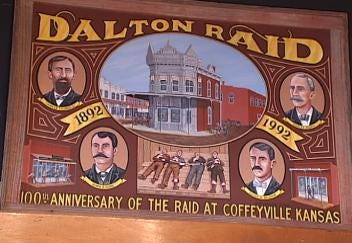 Thieves Steal Headstone From Dalton Gang's Grave