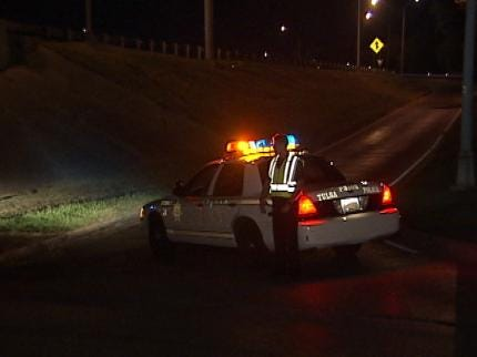 Passenger Escapes Wreck To Fall From Tulsa Highway Bridge