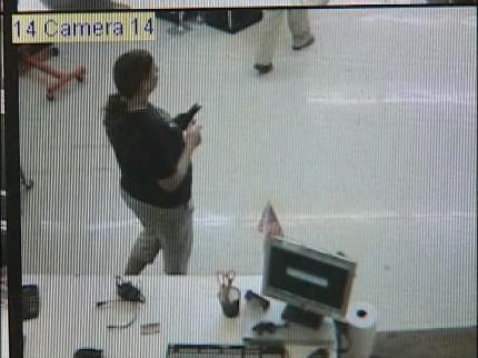 Oklahoma Earthquake Caught On Videotape