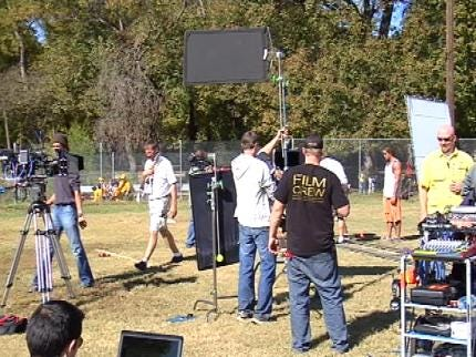 Production Begins On 'The Lamp,' Filmed On Location In Green Country