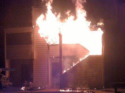 Neighbors Save Two Residents In Tulsa Apartment Arson